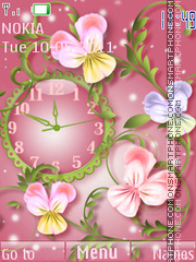 The flower theme screenshot