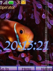 The underwater world swf es el tema de pantalla
