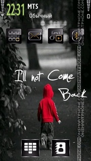 Will Not theme screenshot