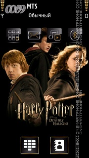 Скриншот темы Harry Potter and the Deathly Hallows