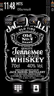 Jack daniels 06 theme screenshot