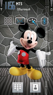 Mickey Mouse 16 theme screenshot