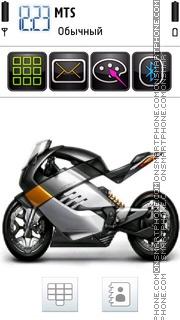 Скриншот темы Super Bike 02