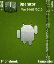 Android World theme screenshot