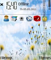 Blis Garden tema screenshot