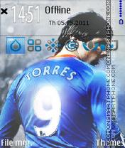 Скриншот темы Fernando Torres 03