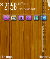 Wood Ipap theme screenshot