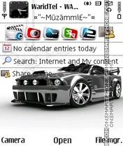 Скриншот темы Ford Mustang 84