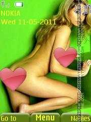 Sexy model136 theme screenshot