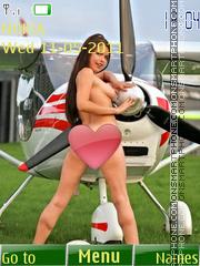 Sexy model141 theme screenshot
