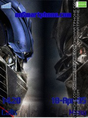Transformers tema screenshot