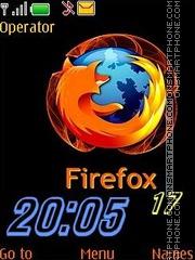 Скриншот темы Mozilla Firefox_swf