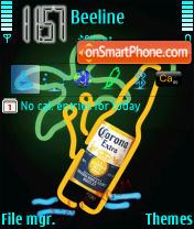 Neon Art theme screenshot