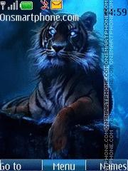 Скриншот темы 3d Tiger 01