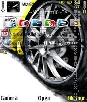 Скриншот темы Lamborghini 09