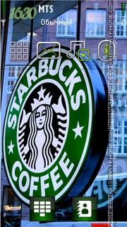 Скриншот темы Starbucks 02