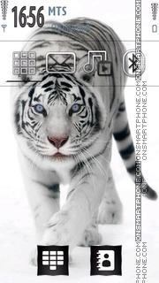 Скриншот темы White Tiger 15