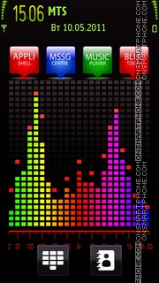 Color Music 02 tema screenshot