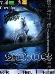 Unicorns swf2 theme screenshot