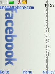 Скриншот темы Facebook 07