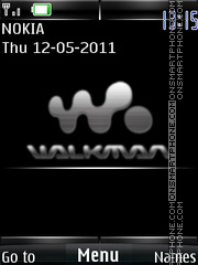 3d Core Duo Walkman theme screenshot