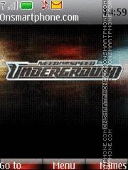 Nfs Underground 03 es el tema de pantalla