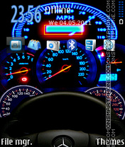 Speedometer 03 theme screenshot
