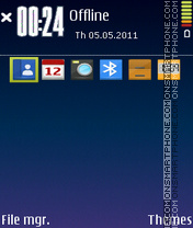 Nokia N8 Original theme screenshot