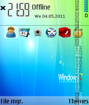 Win 7 me theme screenshot