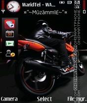 Nice Bike 04 theme screenshot