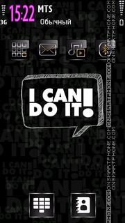 I Can Do It es el tema de pantalla