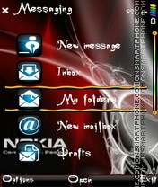 Nokia started Theme-Screenshot
