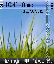 Symbian 3 es el tema de pantalla