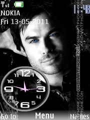 Ian Clock theme screenshot
