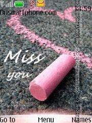 Miss You 09 es el tema de pantalla