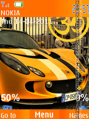 Lotus Elise Flash Theme-Screenshot
