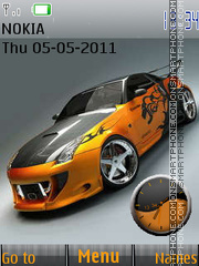 Nissan 350z 13 theme screenshot