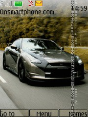 Nissan GT-R R35 01 theme screenshot