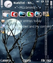 Moon Light 02 theme screenshot