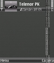 Black Carbon 3d theme screenshot