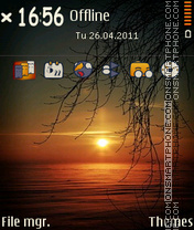 Sunset v1 01 theme screenshot
