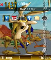 Coyote 01 es el tema de pantalla
