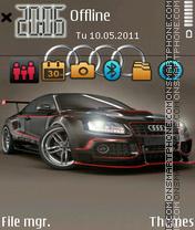 Audi Br theme screenshot