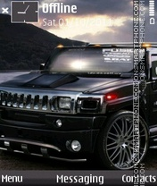 Cool Look Of Hummer theme screenshot