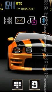 Mustang Car 01 theme screenshot