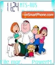 Family Guy es el tema de pantalla