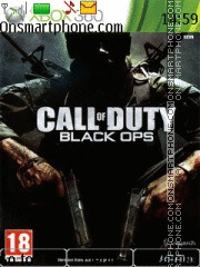 Call of Duty Black Ops theme screenshot