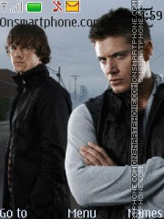 Supernatural theme screenshot