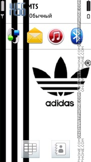 Adidas 53 theme screenshot