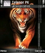 Tiger Roar 01 theme screenshot